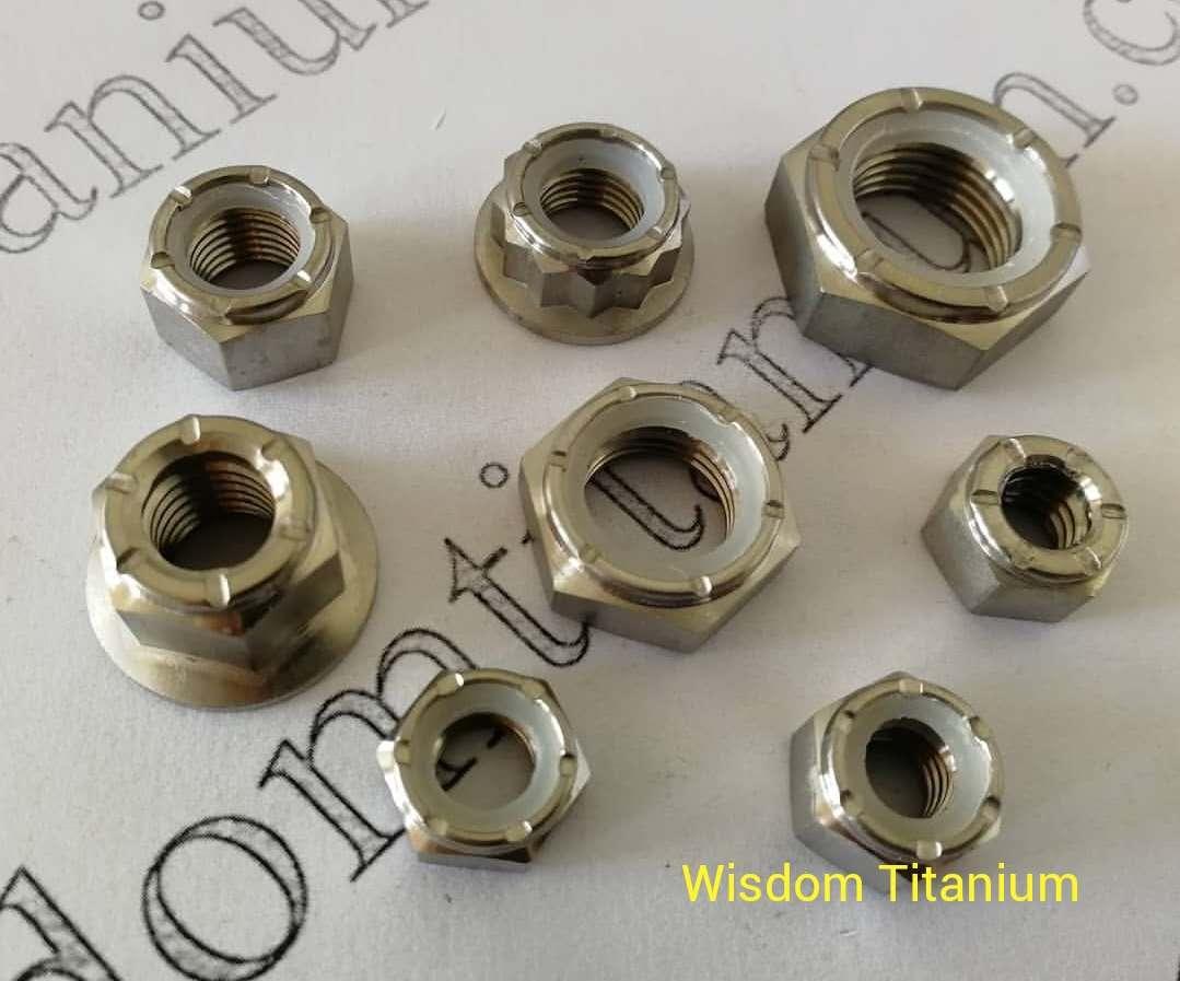 wisdom titanium lock nut